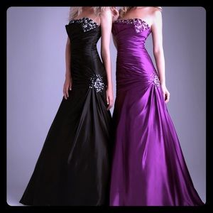 Black Prom/Ball Gown, size 10